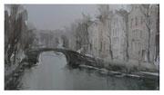 Winter in Amsterdam / Winter in Amsterdam 19,5x33,5cm  2006