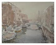 Venice. Summer haze  /  Venedig. Sommerdunst    29x36 2011