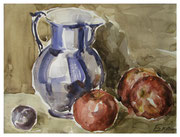 Pitcher and fruits  /  Krug und Obst  23,5x31,5 2013