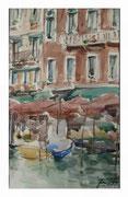 Hotel Marconi  /  Hotel Marconi. Venetian sketch   32,5x20,5  2013