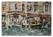 Am Grand Kanal  / On the Grand Canal   29x42   2013