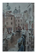 Rain in Venice  /  Regen in Venedig II   34,5x24  2012