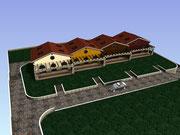 Lavori di costruzione di quattro villette a schiera