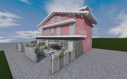 Lavori di ristrutturazione edilizia di una residenza