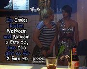 At chulos white and red wine cost 3 euros 50, a coke is available for 2 euros 40.