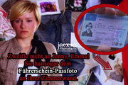 Don't doubt Jenny, Emma! She even has your driver's license photo on the wall in her room.