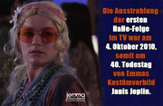 The first HaHe episode aired on October 4th 2010, which was the 40th anniversary of the death of Emma's costume role model Janis Joplin.