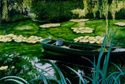 Giverny (i) oil on canvas