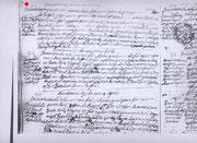 Filippo di Domenico matrimonio, 1693