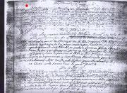 Nicola di Laureto matrimonio, 1761