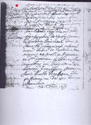 Laureto Antonio di Filippus battesimo, 1699