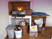 Le barbecue en dur