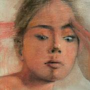 """Sustainable gaze 3"" - AVAILABLE contact me: info@dariomoschetta.com - acrylic on canvas 40x40cm"