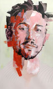 AVAILABLE -  acrylic on canvas 40x68cm