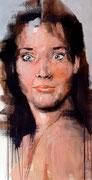 "AVAILABLE - ""eyes wide"" - acrylic on canvas 40x68cm"