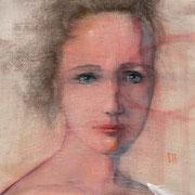 """Sustainable gaze 4"" - AVAILABLE contact me: info@dariomoschetta.com - acrylic on canvas 40x40cm"