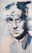 """AVAILABLE - """"Lynch"""" - acrylic on canvas 40x68cm"""