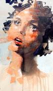 SOLD - acrylic on canvas 40x68cm