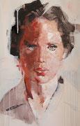 "SOLD - ""Liv"" acrylic on canvas 40x68cm"