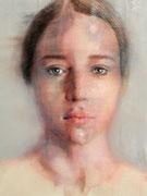"SOLD  - ""Hyperbolic shades 32"" acrylic on canvas 60x80cm"
