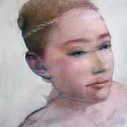 """Sustainable gaze 6"" - AVAILABLE contact me: info@dariomoschetta.com - acrylic on canvas 40x40cm"