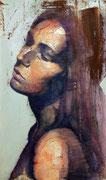 "SOLD - ""Hyperbolic shades 4"" acrylic on canvas 40x68cm"