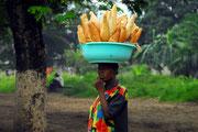Aber in Kinshasa regnet es nicht immer.