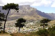 Kapstadt am Tafelberg.