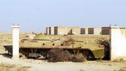 ... wo während der sowjetischen Besatzung große Kasernenanlagen errichtet wurden.
