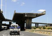In Vorbereitung der Fußball-WM wurde Kapstadt zur Großbaustelle.