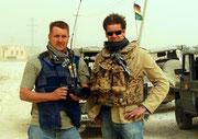 Mit meinem Freund Christian während der Feldjäger-Patrouille. Eigentlich ein schönes Schlußbild für diese Galerie.