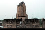 Bei Regen sieht es vor dem Hotelzimmer SO aus...