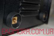 Мамка-байонет сварочного аппарата для подключения держателя или клеммы-массы.