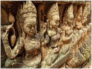 Figuras en piedra, Angkor Wat. © Daniel Roca García. © Daniel Roca García.