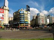 Plaza de la República, Buenos Aires. © Leonardo Ara Pueyo.