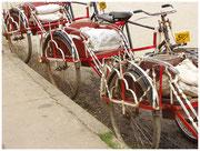 Bici-taxis en Pyay. © Daniel Roca García.