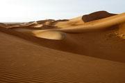 Dunas de Erg Chigaga (Desierto del Sahara). © Cesar Pardo Abadías.