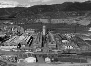 Vista de INESPAL, Sabiñánigo. Fototeca AFS. Autor anónimo.