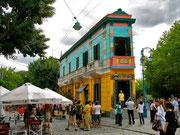 Calle de Caminito, Barrio de Boca. © Leonardo Ara Pueyo.