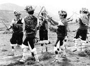 Danzantes de Yebra de Basa. Fototeca AFS. © Javier Ara Cajal.