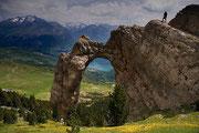 Arco natural de Piedrafita. © Carlos López Arrudi.