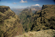 Montañas, Parque Nacional Simien. © Juan Carlos Ascaso.