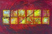 ohne Titel - 2013 - Acryl - 80x120 cm (in Privatbesitz)