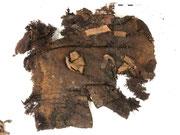 Fragment des Rückenteils der Oberbekleidung nach der Separierung im VZ