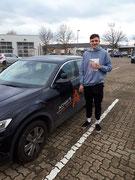 Leo Grünewald-Steiger hat seinen B Führerschein seit dem 07.12.2020!