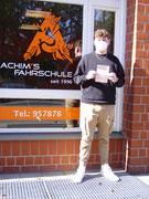 Lucas Basener hat seinen B Führerschein seit dem 29.03.2021!