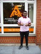 Christian Wamba Fozi hat seinen B Führerschein seit dem 18.01.2021!