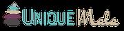 UniqueMala, Logo, Visitenkarte, Gutscheine, Etikette