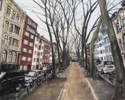 2018 Beethovenstraße 59x47,5 cm  -verkauft-