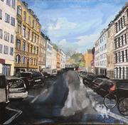 2017 Boisserreestraße 30x30cm  300,-€ {bei mir im Atelier)